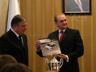 Этап чемпионата мира по ралли в Ялте признан лучшим в 2011 году