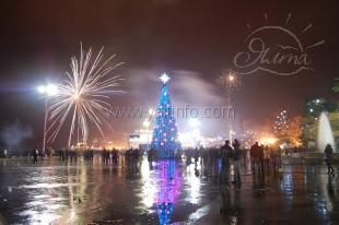 Новогодняя ночь в Ялте