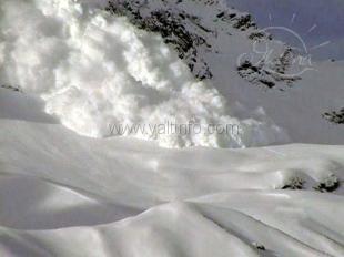В крымских горах по-прежнему лавиноопасно
