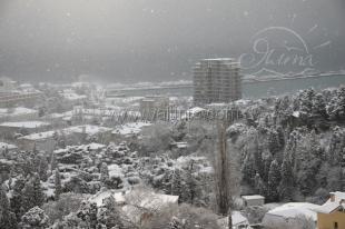 В Ялте выпало 33 сантиметра снега (фото)