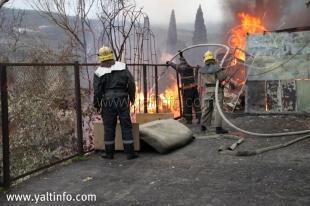 Пожар на ул. Богдановича (Фото)