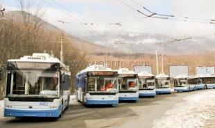 Растет популярность троллейбусов