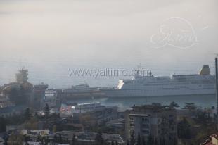 В Ялту зашел лайнер  Spirit of ADVENTURE