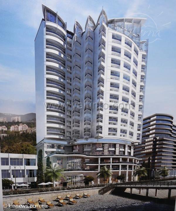 В Ялте представили проект строительства отеля Hilton