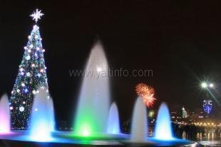 Новый Год в Ялте встретили 8 тысяч туристов