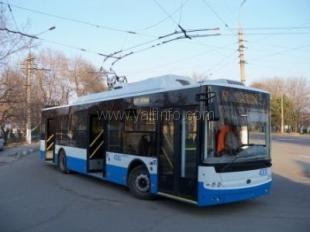 Ялтинцы стали реже ездить на троллейбусах