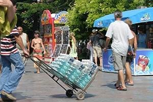 В Ялте объявили конкурс на выносную торговлю