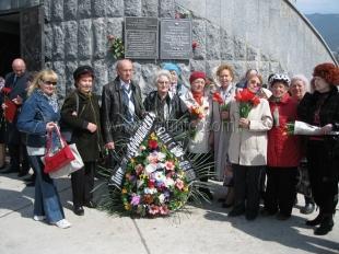 В Ялте открыли мемориальную доску в память об освободителях города