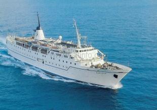 В Ялту прибыло круизное судно