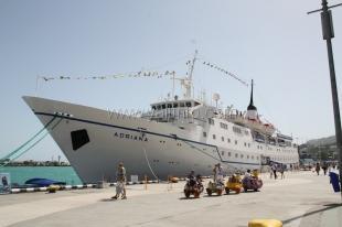 В Ялту прибыло круизное судно Adriana