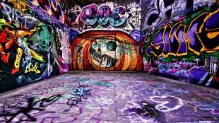 Ялтинская молодежь решила доказать: граффити может быть не вандализмом, а искусством