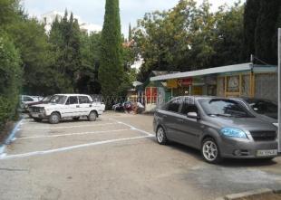 В Симеизе открыли новую парковку