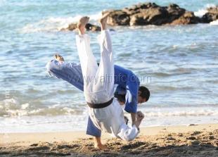 В Гаспре стартовал международный юношеский турнир по дзюдо