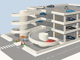 Ялту обещают застроить многоуровневыми парковками