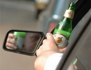 В Ялте пьяный милиционер гонял на авто по набережной. (ВИДЕО)