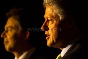 Билл Клинтон и Тони Блэр в Ялте