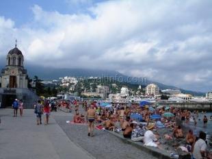 Количество туристов отдохнувших в  Ялте превысило прошлогодний показатель на 8%