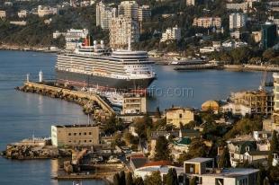 В октябре Ялту посетят 24 круизных лайнера