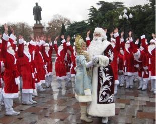 В Ялте снова проведут «Мороз-парад»