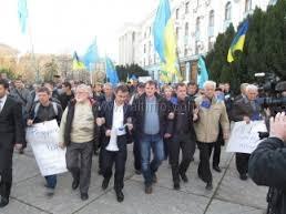 В Крыму за евроинтеграцию митинговали 5,5 тысяч человек — данные МВД
