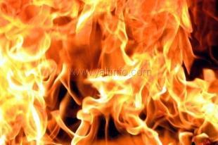 В Ялте утром тушили пожар
