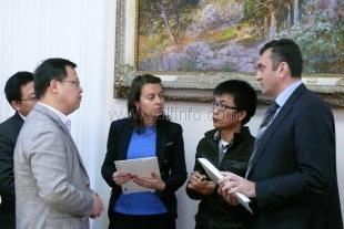 Ялту с официальным визитом посетила делегация Китайской Народной Республики