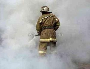 Пациентов психдиспансера спасали от пожара