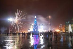 В новогоднюю ночь на набережной устроят народные гуляния