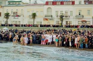 Крещенские гуляния в Ялте