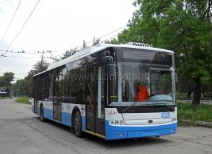 Троллейбус - лидер пассажирских перевозок в Крыму