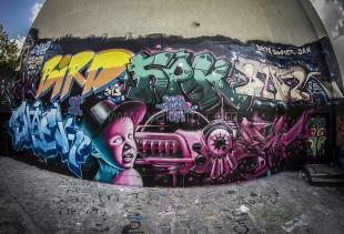 Граффитчики Ялты уродуют город