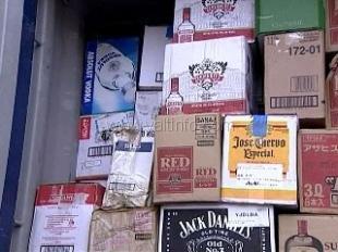 В Ялте изъяли партию поддельного алкоголя
