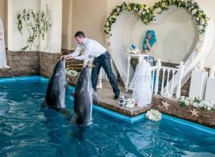 Необычная свадьба в Ялте
