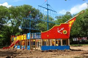В Ялте в ближайшее время будет установлена большая детская игровая площадка в виде 30-метрового корабля