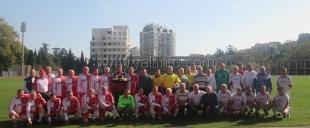В Ялте состоялся матч ветеранов футбола