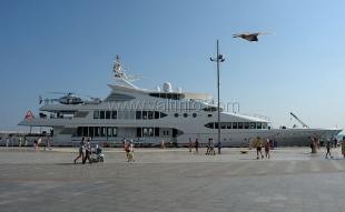 Ялтинский порт в этом году принял полсотни иностранных яхт