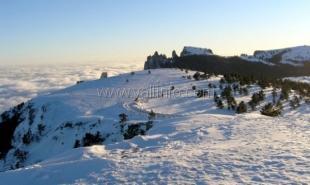 Власти Крыма рассматривают возможность создания лыжного курорта на плато Ай-Петри