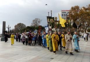 В Ялте в День народного единства прошел молебен