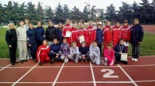 Ялтинские легкоатлеты завоевали 5 медалей на Всекрымском турнире по многоборью