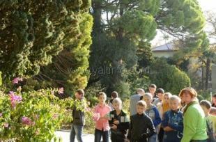 Никитский сад провел благотворительную акцию