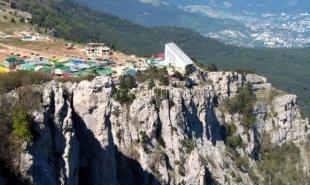 Глава Госкомлеса против строительства спорткомплекса на плато Ай-Петри