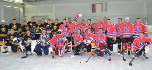 Ялтинские хоккеисты одержали победу над соперниками из Керчи