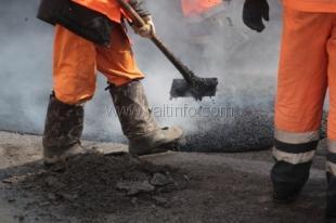 В Ялте завершена первая очередь работ по ремонту дорог
