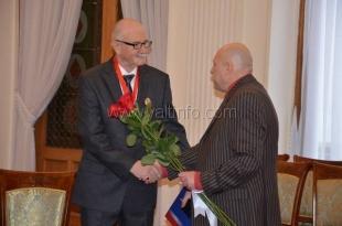 Известный ялтинский коллекционер стал кавалером ордена Карла Фаберже