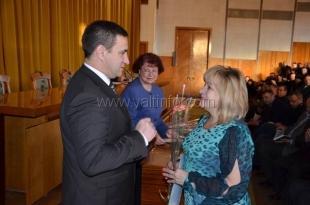 В Ялте наградили участников проведения переписи населения