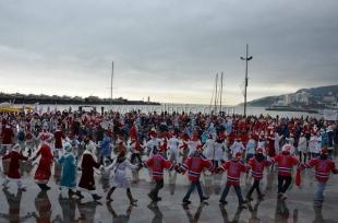 На юбилейном «Мороз-Параде» в Ялте установили 3 рекорда России