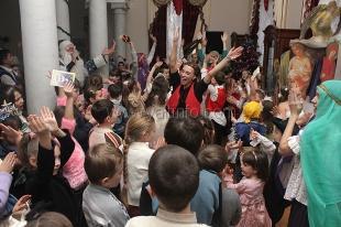 В Ливадийском дворце прошли традиционные «Царские ёлки»