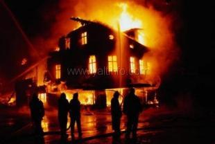 Как обезопасить свой дом от пожара
