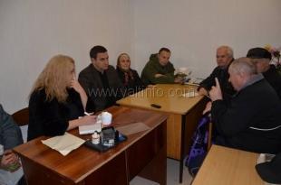 Андрей Ростенко провёл встречу с ялтинскими ветеранами
