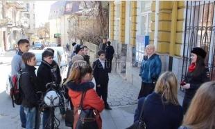 Студенты и школьники Ялты побывали на экскурсии в Управлении внутренних дел